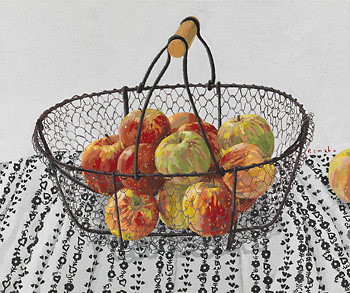 "Rimako Horikawa horikawa, rimako ""fruit (on canvas tempera: 8 size F) of crayon"""