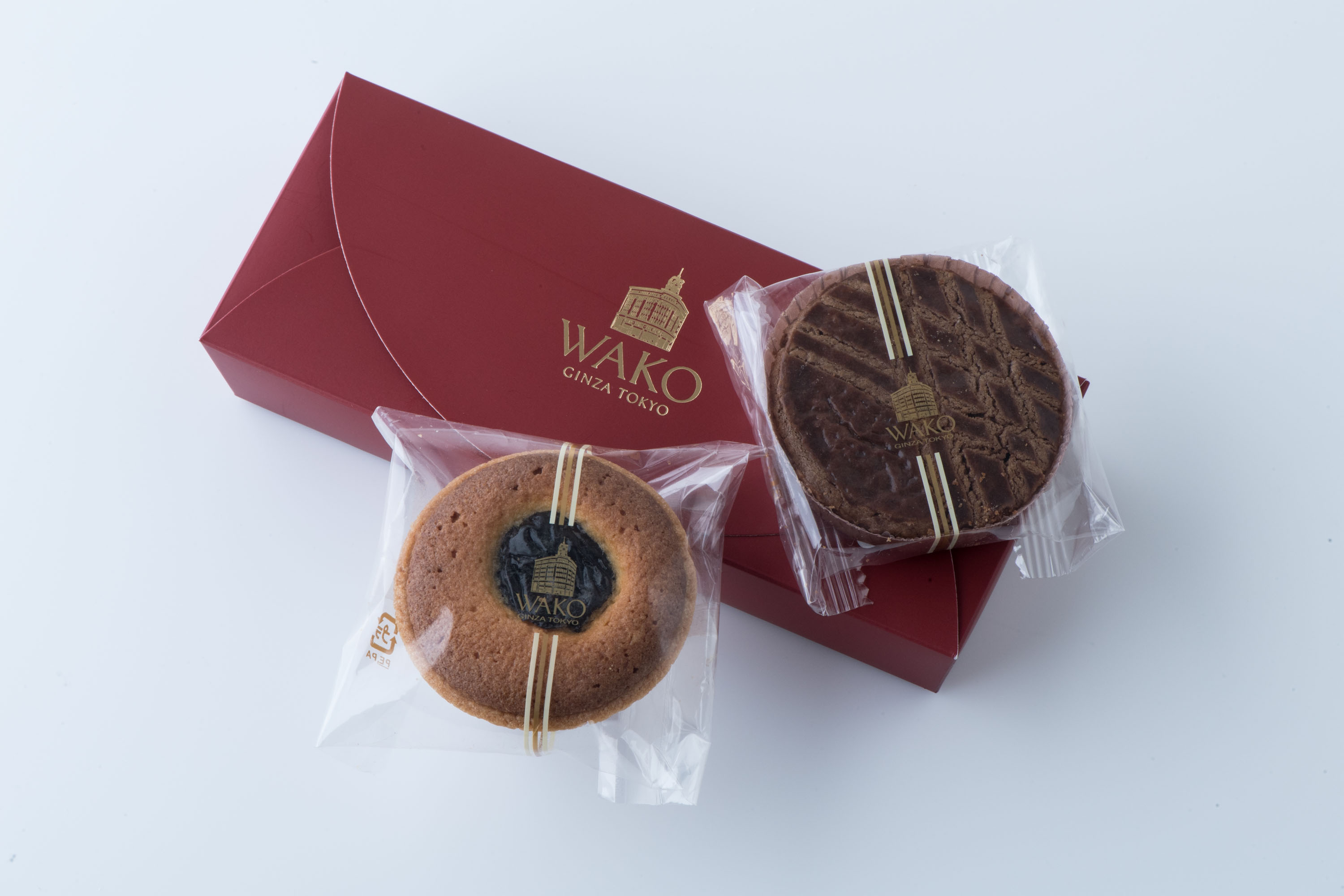 """Information for baked confectioneries """"gateau Brest"""" of AUTUMN IN WAKO reproduction present"""