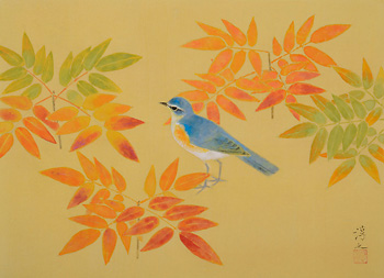 """News about so that """"chicken passes poetry u Atsushi Uemura Japanese painting exhibition"""" gallery talk"""
